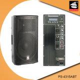 15 Zoll PROaktiver Plastiklautsprecher PS-4315abt USB-200W Ableiter-FM Bluetooth