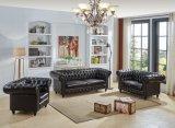Meubles chauds du marché de salle de séjour de sofa de Chesterfield de vente