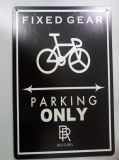 Sport-Thema-Fahrrad-Metallzeichen für im Freien
