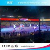 Farbenreicher Innen-Bildschirm LED-P4 auf Verkauf