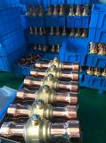 Parti di refrigerazione, valvola a sfera d'ottone per refrigerazione, valvola di carica