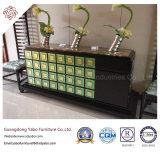Самомоднейшая мебель гостиницы с стильной таблицей пульта прихожей (YB-T-1029)
