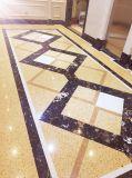 Ls-Q001 Gold Diamond Lajes de pedra artificial&Ladrilhos&Bancada de quartzo Artificial