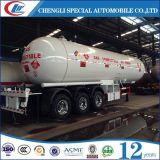 반 40000litres 20mt 액체 프로판 LPG 수송 탱크 트레일러