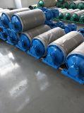 Abbassare il rullo folle d'acciaio del nastro trasportatore del tenditore autolineante di attrito