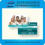 カスタムプラスチックビジネス中国の訪問の名刺の製造業者