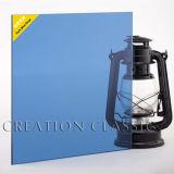 4-6mmの良質の濃紺の反射ガラス、青いフロートガラス