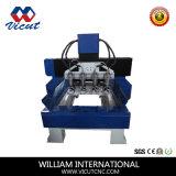 플라스틱, 아크릴, 알루미늄 CNC 회전하는 대패 기계 Vct-1625W-5h-1r
