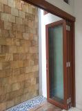 Portello di piegatura di vetro Basso-e di alluminio della rottura termica