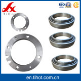 Peça do rolamento da carcaça da flange do aço inoxidável do metal do CNC