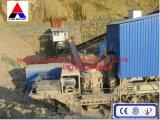 Передвижное задавливая оборудование завода (передвижная дробилка)