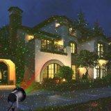 Resistente al agua IP44 RGBW LED Navidad parte de la luz de césped
