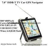 """Nouveau 7.0 """" Voiture Navigation GPS avec Wince 6.0 Système de navigation GPS, transmetteur FM, AV-in pour le stationnement du GPS Navigator Sat Nav de la caméra, Bluetooth, GPS tracker appareil"""