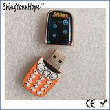 Aandrijving van de Flits van de Vorm USB van de Telefoon van pvc de Materiële Mobiele (xh-usb-071)