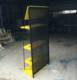 Cremagliera di visualizzazione personalizzata mensola resistente degli apparecchi della lampadina del piatto di metalli 4-Layers
