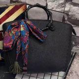 La Chine usine du fabricant directement les femmes sac à main Sac bandoulière Sac avec écharpe de soie SH168