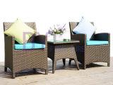 Muebles al aire libre de la rota del PE del ocio del patio de la terraza del jardín