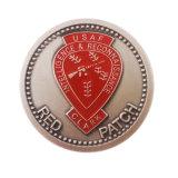 Fábrica de China antigua de metal personalizados baratos monedas de plata