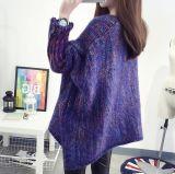 Зимние женщин красочные Bat втулку прикрытия ослабление длинные свитера (BTQ209)
