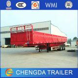 40FT de Semi Aanhangwagen van de Lading van de Zijgevel 3axle 40ton voor Verkoop
