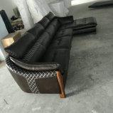 وصول جديد [ل] شكل جلد أريكة أثاث لازم ([أ70])