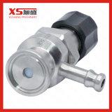 Válvula asséptica da amostragem da esterilidade do aço inoxidável SS316L mini