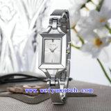 Crear el reloj de lujo del acero para requisitos particulares inoxidable de la aleación del reloj (WY-040D)