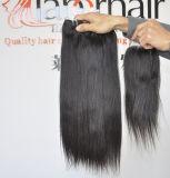 Armure droite de cheveux humains de cheveu de 100% de Vierge péruvienne non transformée des extensions 8A