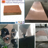 Soudage explosive Plaque de cuivre plaqué nickel