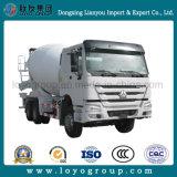 Camion de mélangeur de passage de Sinotruk HOWO 6X4 à Philippines
