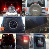 Lumière multifonctionnelle arrière d'arrière d'IP68 12V DEL pour le feu de position d'arrêt de signal de spire de jeep