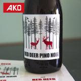 Venta caliente Ako cerveza de marca etiqueta etiquetas de vino