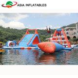 De commerciële OpenluchtSpelen van het Water, het Reuze Opblaasbare Drijvende Park van het Water voor Verkoop