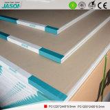 Cartón yeso estándar para el edificio Material-9.5mm