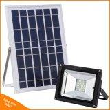庭の芝生のポストの街灯のための10/20/30/50Wの屋外の照明機密保護LEDの太陽洪水ライト