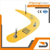 YFSpring Coilers C416 - диаметр провода 0,15 - 1,60 мм 4 Сервомеханизмы - пружины с ЧПУ станок