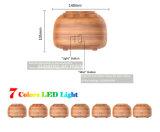 초음파 Aromatherapy를 가진 나무로 되는 곡물 정유 공기 방향 유포자