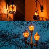 Luz de bulbo caliente del efecto de fuego de la venta LED 5W AC85 - lámpara de la llama de 265V E26 E27
