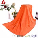 Супер мягкое обыкновенное толком Multicolor приполюсное одеяло ватки