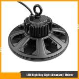 alta lámpara de la bahía de 200W UFO/Round 130lm/W LED con el programa piloto de Meanwell