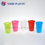 copo bebendo plástico da cor 8oz cor-de-rosa
