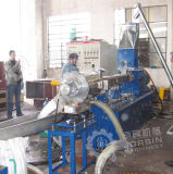 El carbonato de calcio Mastbatch Color de relleno y PE compuesto de fibra de vidrio Máquina de granulación