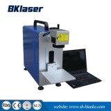 20W 중국에 있는 플라스틱 휴대용 섬유 Laser 표하기 기계