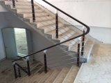 Лестницы поручня PVC столба нержавеющей стали дизайна интерьера 314 деревянные