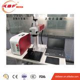 macchina diritta della marcatura del laser della fibra del metallo di 20W Mopa per la marcatura di marchio di caso di iPhone e la marcatura di colore