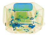 手荷物、貨物点検SA6040のための二重エネルギーX線のコンベヤーベルトの金属探知器