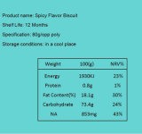 2018 Sinobake вкусные закуски жгучий вкус печенья