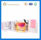 Farbenreiche Druckpapier-Einkaufstasche
