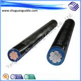 Изолированный XLPE/PE пламенно/электрические// управления кабель