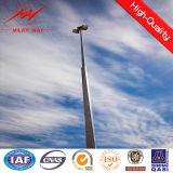 alto diseñador de poste ligero del mástil de los 35m con la luz cuadrada